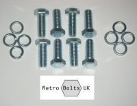 Brake Disc to Front Hub Bolt Set - Mk2 Escort